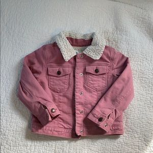 Old nave denim jacket size 4T
